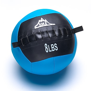 Black Mountain Products Fitness Slam Ball for Strength and Endurance Training, 8lbs. (Slam Ball 8lbs)
