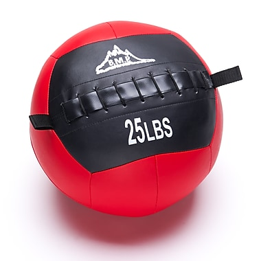 Black Mountain Products Fitness Slam Ball for Strength and Endurance Training, 25lbs. (Slam Ball 25lbs)