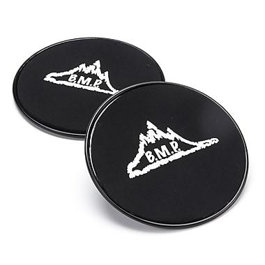 Black Mountain Products - Disques glissants Core Exercise Sliders, noir, 2/paquet (Sliders Black)