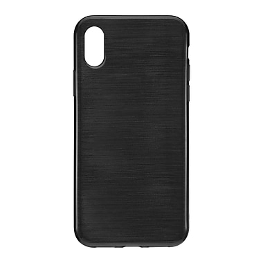 Blu Element Brushed Gel Skin For Use With iPhone X, Black (BBTIP8BK)