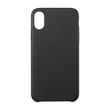 Blu Element Velvet Touch Case For Use With iPhone X, Black (BBMI8B)