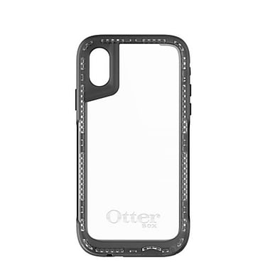 OtterBox – Étui Symmetry Clear pour iPhone X, noir/transparent (7757211)