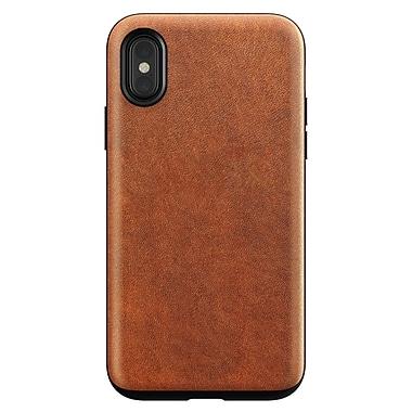 Nomad – Étui en cuir robuste pour iPhone X, brun (112-9845)