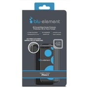 Blu Element 3D Curved Glass Case For Use With iPhone X, Black (BTIPH8CE)