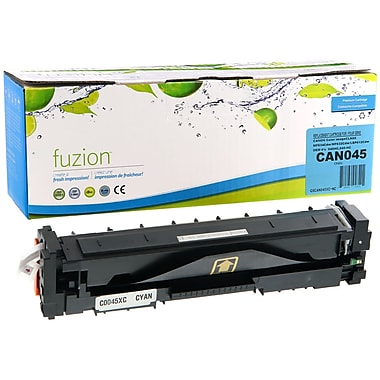 fuzion™ New Compatible Canon 045 Cyan Toner Cartridge, High Yield (GSCAN045HC-NC)