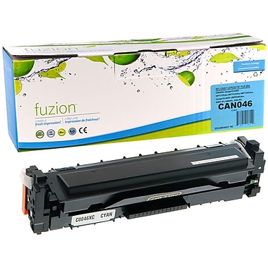 fuzion™ New Compatible Canon 046 Cyan Toner Cartridge, High Yield (GSCAN046HC-NC)