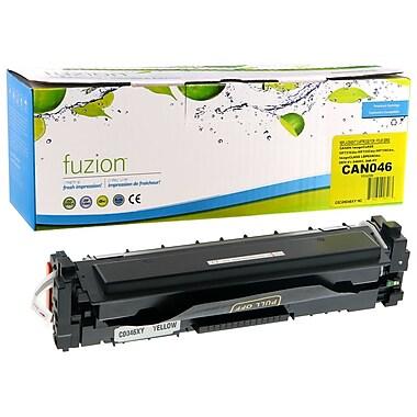 Fuzion – Cartouche de toner jaune compatible avec Canon 046, haut rendement (GSCAN046HY-NC)