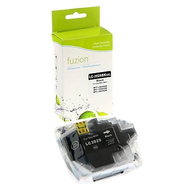 Fuzion - Cartouche d'encre noire New Compatible Brother LC3029, haut rendement (IJLC3029K)