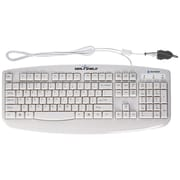 Seal Shield USB Medical Grade Keyboard, White (STWK503)