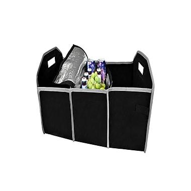 Etcbuys Foldable 3-Compartment Cargo Car Trunk Organizer Tool Storage Box Bag Colour