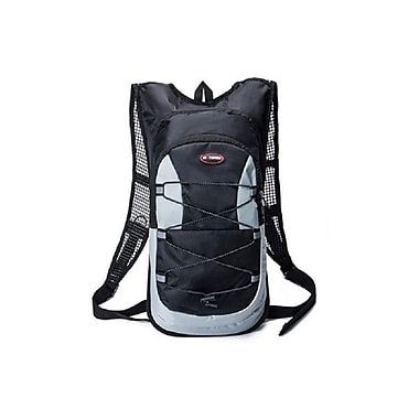 Etcbuys (ETC-2-ZIP-BLK) Hydration Tactical Backpack, Black