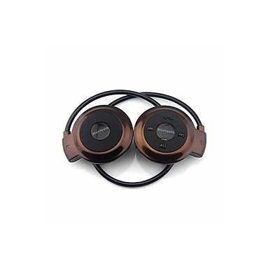 Etcbuys Bluetooth Stereo Headset With Mic And Control, Brown