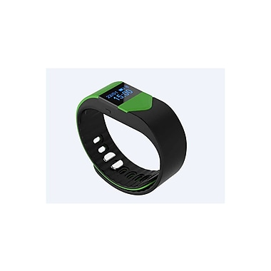 Etcbuys Bluetooth Waterpoof Heart Rate Moniter Fitness Band, Green
