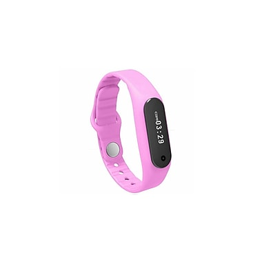 Etcbuys Touchscreen Waterproof Bluetooth Smart Bracelet Fitness Tracker, Pink