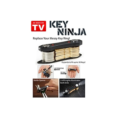 Ninja KeyChain, Holds Multiple Keys