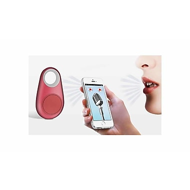 3-1 Bluetooth Anti-Loss Keychain/Tracker/Selfie Remote, Pink