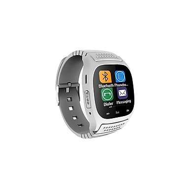 Etcbuys Bluetooth Elegance Smartwatch for iOS and Android, White