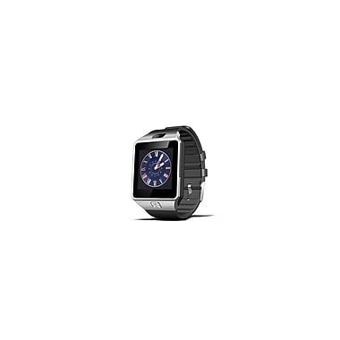 Etcbuys Bluetooth Smart Watch with Camera, Pedometer, Activity Monitor and iPhone/Android Phone Sync, Black