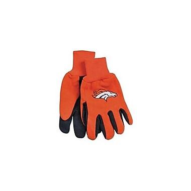 Etcbuys (NFL-GLV BRONCOS) NFL Two Tone Licensed Gloves, Denver Broncos