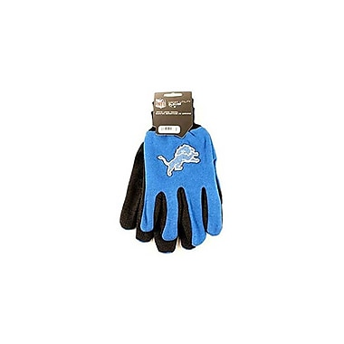 Etcbuys (NFL-GLV LIONS) NFL Two Tone Licensed Gloves, Detroit Lions
