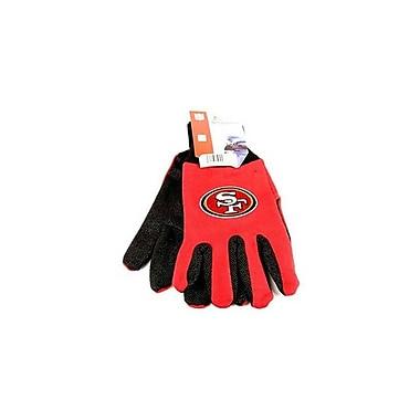 (NFL-GLV RAVENS) NFL Two Tone Licensed Gloves, Baltimore Ravens
