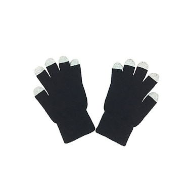 Etcbuys Winter Style Touchscreen Gloves, Black