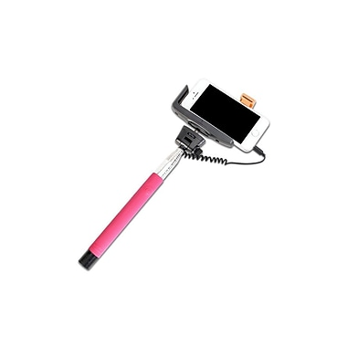 iPlanet Smartphone Device Monopod Selfie Stick, Pink