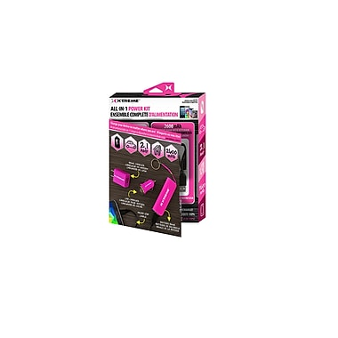 Etcbuys Xtreme All-in-1 Power Kit, Pink