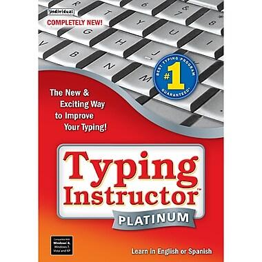 Logiciel de dactylographie Typing Instructor® Platinum, pour Windows [téléchargement]