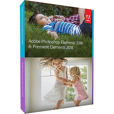 Adobe Photoshop & Premiere Elements 2018 Multi Platform