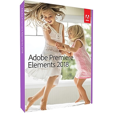 Adobe Premiere Elements 2018 Multi Platform, French