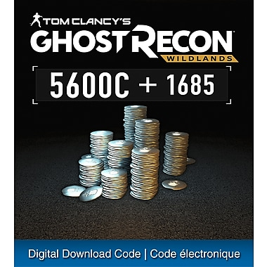 Tom Clancy'S Ghost Recon Wildlands, Large Pack 7285 Credits, PS4 [Download]