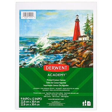 Derwent Academy Canvas Pad, 10 count, 11