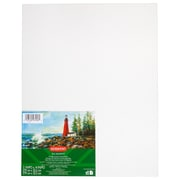 "Derwent Academy Primed Cotton Canvas Panel, 11"" x 14"", 3/Pack, White (97046)"