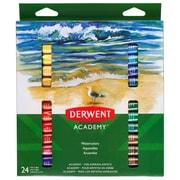 Derwent Academy - Peinture aquarelle, 24 couleurs