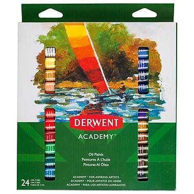 Derwent Academy – Peinture à l'huile, 24 couleurs