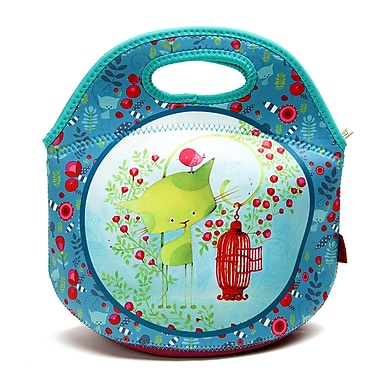 Ketto Neoprene Sweet Lunch Bag, Kiwi