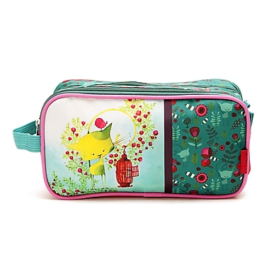 Ketto Double Pencil Case, Kiwi