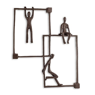 Danya B Playful Kids on Frames Iron Wall Piece (ZI15216)