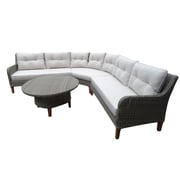Carabelle 4-Piece Sectional Set (BAS1295LBBG)