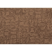 "Monarch Pillow, 18""x 18"", Light Brown Mosaic Velvet"