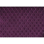 "Monarch Pillow, 18""x 18"", Purple Diamond Velvet"