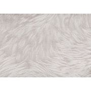 "Monarch Pillow, 18""x 18"", Light Taupe Feathered Velvet"