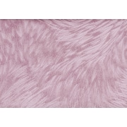 "Monarch Pillow, 18""x 18"", Light Pink Feathered Velvet"