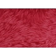"""Monarch Pillow, 18""""x 18"""", Red Feathered Velvet"""