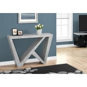 "Monarch 48""L Hall Console Accent Table, Grey (I 2436)"