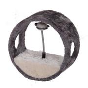 PetPals Vortex-M Ring Teasing Balls Toy, Grey(PP0028G)