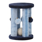 PetPals Doo Wopp Fleece and Sisal Toy, Blue (PP0031)