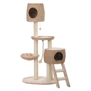 PetPals Recycled Paper Multi-Level Cat Tree with Teaser (PP0152A)