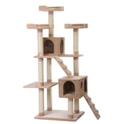 PetPals Recycled Paper Multi-Level Cat Tree with Perch (PP0157A)